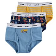 Boys 4-8 Carter's 3-Pack Construction Zone Briefs