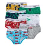 Boys 4-8 Carter's 7-Pack Dino & Firetruck Briefs
