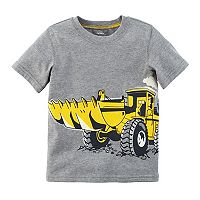 Baby Boy Carter's Digger Construction Truck Short Sleeve Graphic Tee