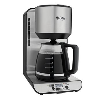 Mr Coffee 12 Cup Stainless Steel Programmable Coffee Maker