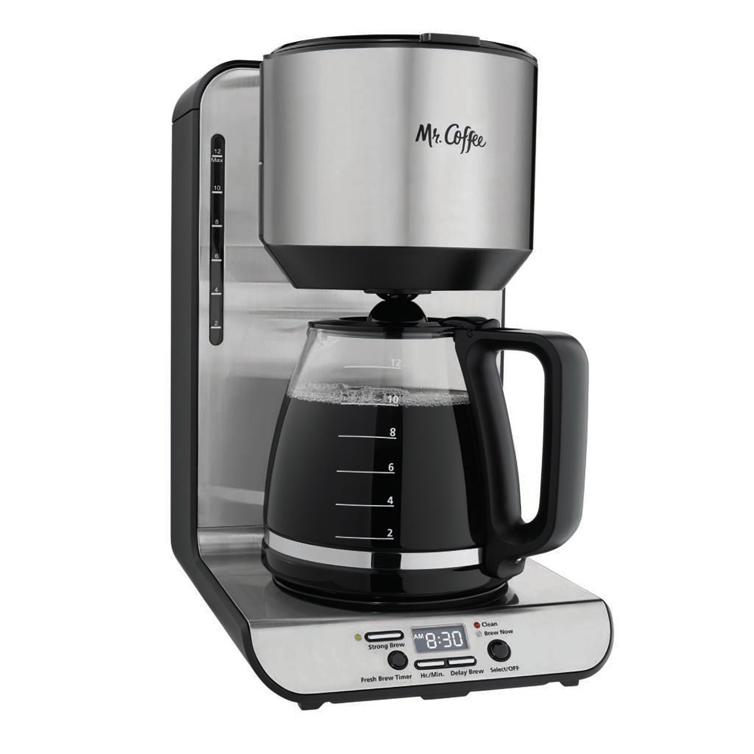 mr coffee 12cup stainless steel coffee maker