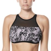 Women's Nike Printed High-Neck Bikini Top