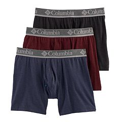 Men's Columbia 3-pack Performance Boxer Briefs