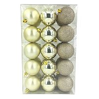 St. Nicholas Square® Shatterproof Ball Christmas Ornaments 30 pc Set