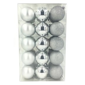 St. Nicholas Square® Shatterproof Ball Christmas Ornaments 30-piece Set