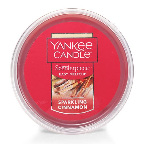 Yankee Candle Sparkling Cinnamon Scenterpiece Wax Melt Cup