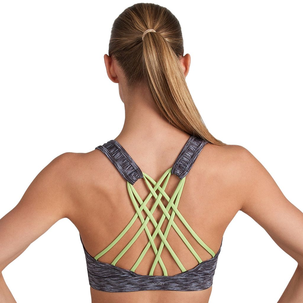 Jockey Sport Bras: Strappy Back Low-Impact Sports Bra 9189
