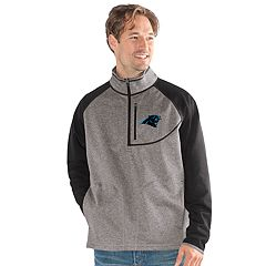 Men's Carolina Panthers Mountain Trail Pullover Fleece Jacket