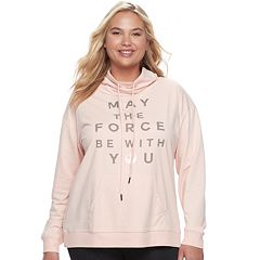 Juniors' Plus Size Her Universe Star Wars 'May The Force Be With You' Graphic Pullover