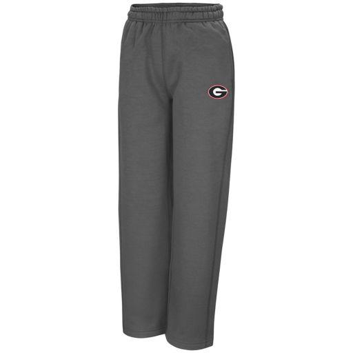 Boys 8-20 Campus Heritage Georgia Bulldogs Fleece Pants