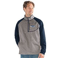 Men's Seattle Seahawks Mountain Trail Pullover Fleece Jacket