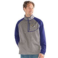 Men's Baltimore Ravens Mountain Trail Pullover Fleece Jacket