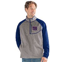 Men's New York Giants Mountain Trail Pullover Fleece Jacket