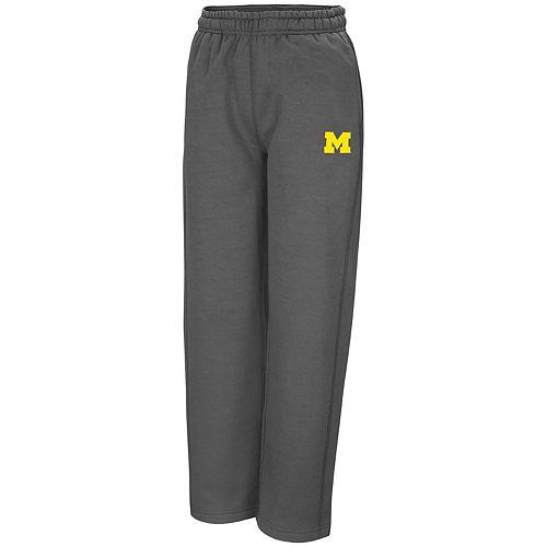 Boys 8-20 Campus Heritage Michigan Wolverines Fleece Pants