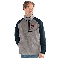 Men's Chicago Bears Mountain Trail Pullover Fleece Jacket