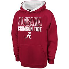 Boys 8-20 Campus Heritage Alabama Crimson Tide Team Color Hoodie