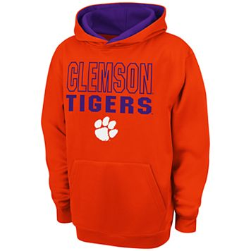 Boys 8-20 Campus Heritage Clemson Tigers Team Color Hoodie