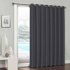 eclipse Clara Blackout Patio Door Curtain