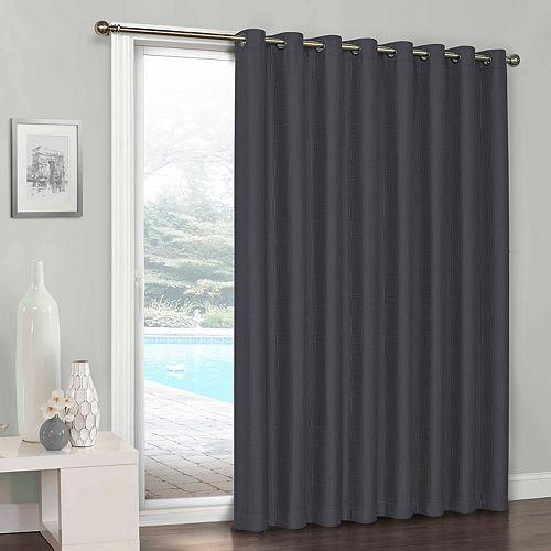 Eclipse Clara Blackout Patio Door Curtain