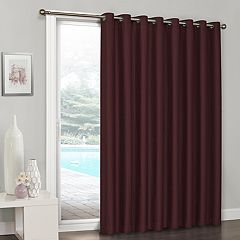 eclipse Blackout 1-Panel Clara Patio Door Curtain