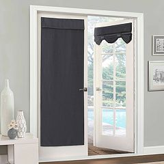 eclipse Clara Blackout Door Window Curtain