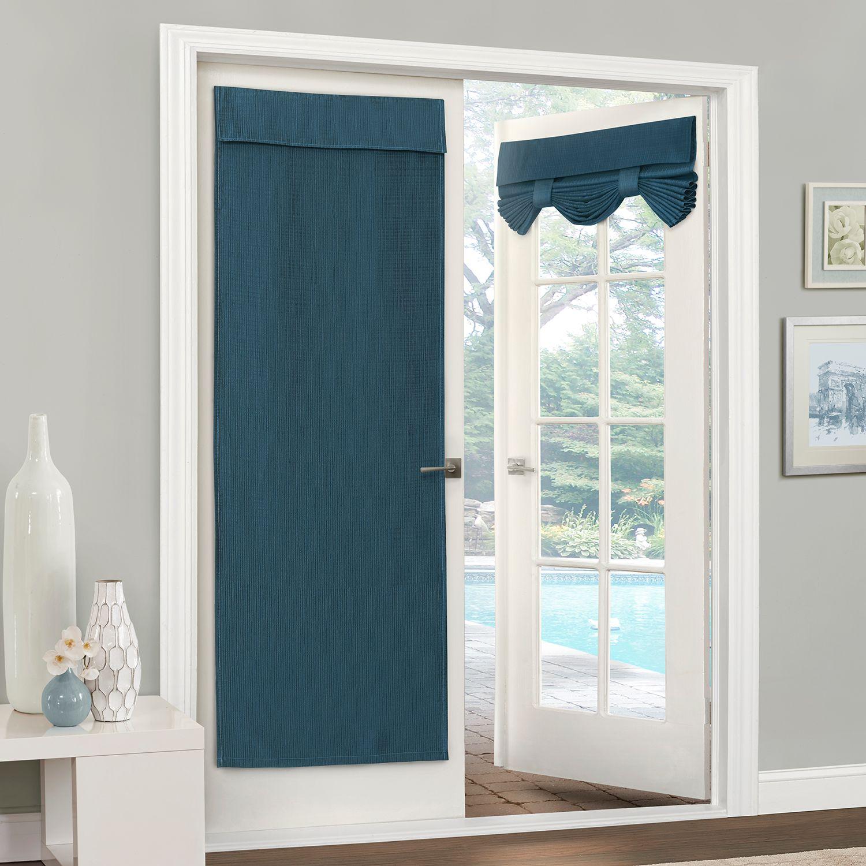 & eclipse Blackout 1-Panel Clara Door Window Curtain
