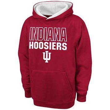 Boys 8-20 Campus Heritage Indiana Hoosiers Team Color Hoodie
