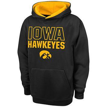Boys 8-20 Campus Heritage Iowa Hawkeyes Team Color Hoodie