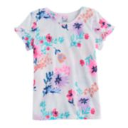 Girls 4-12 SONOMA Goods For Life? Overlapping Ruffle Tee