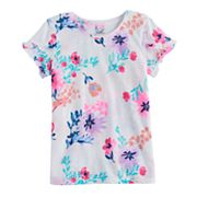 Girls 4-12 SONOMA Goods For Life™ Overlapping Ruffle Tee
