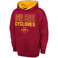 Boys 8-20 Campus Heritage Iowa State Cyclones Team Color Hoodie
