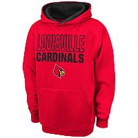 Boys 8-20 Campus Heritage Louisville Cardinals Team Color Hoodie