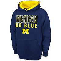 Boys 8-20 Campus Heritage Michigan Wolverines Team Color Hoodie