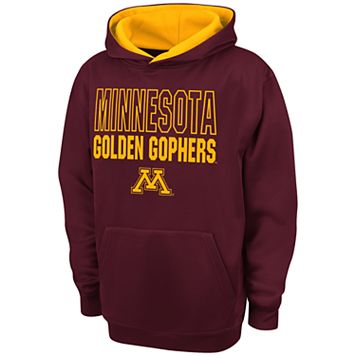 Boys 8-20 Campus Heritage Minnesota Golden Gophers Team Color Hoodie