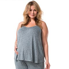 Plus Size Maternity Pip & Vine by Rosie Pope Racerback Tank