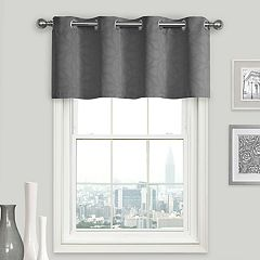 eclipse Kingston Blackout Window Valance