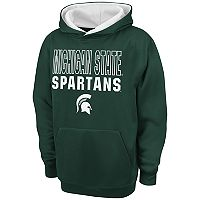 Boys 8-20 Campus Heritage Michigan State Spartans Team Color Hoodie
