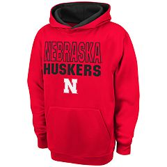 Boys 8-20 Campus Heritage Nebraska Cornhuskers Team Color Hoodie