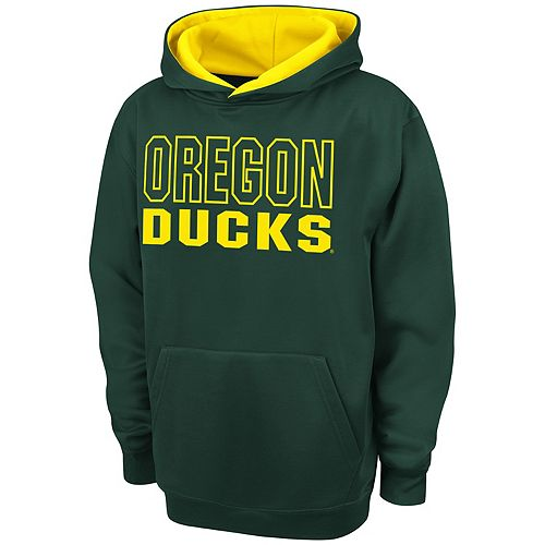 Boys 8-20 Campus Heritage Oregon Ducks Team Color Hoodie