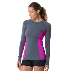 Women's Speedo Colorblock Rash Guard