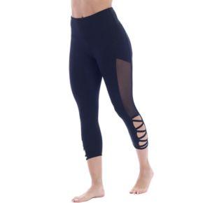 Women's Marika Strappy High-Waisted Capri Leggings