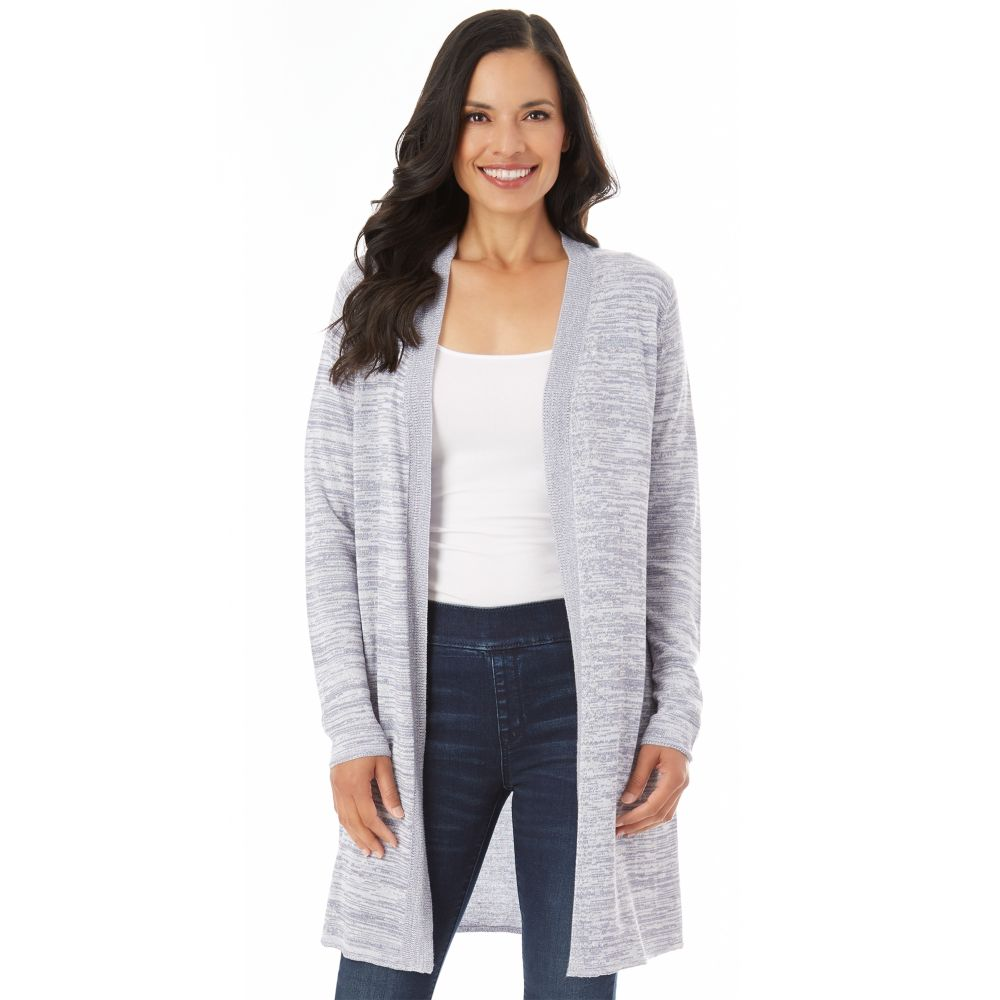 Apt. 9® Marled Long Cardigan Sweater