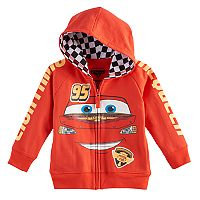 Disney / Pixar Cars Toddler Boy Lightning McQueen Zip Hoodie