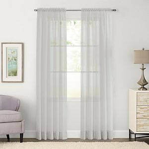 SONOMA Goods For LifeTM 1 Panel Crushed Voile Sheer Window Curtain