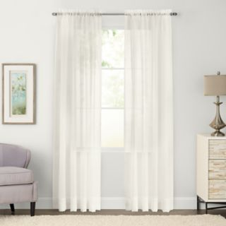 SONOMA Goods for Life? 2-pack Sheer Voile Window Curtains