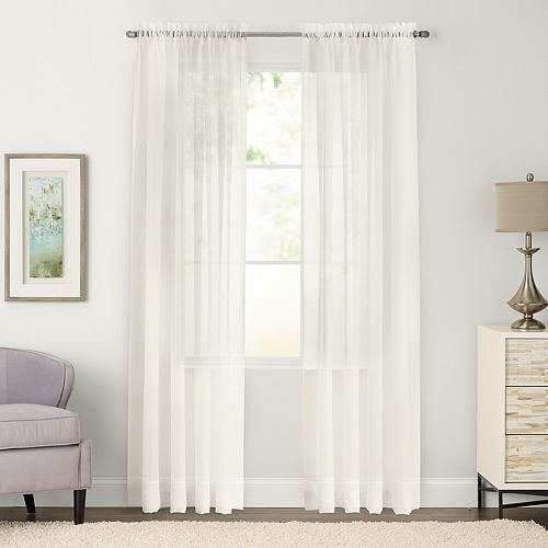 SONOMA Goods for Life™ 2-pack Sheer Voile Window Curtains