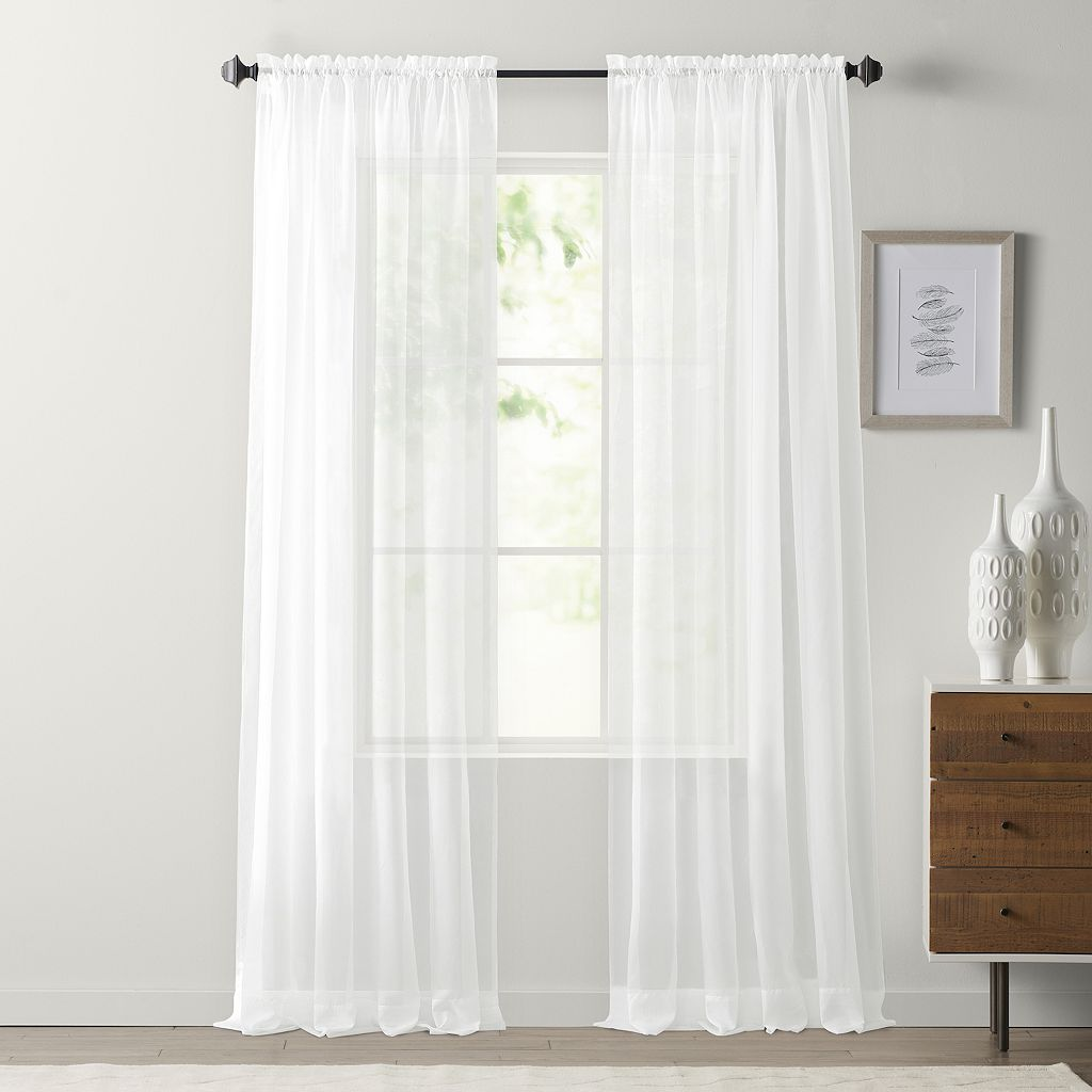SONOMA Goods for Life™ Voile Window Curtain Set