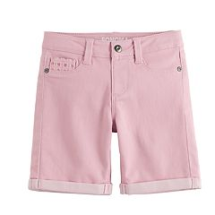 Girls 4-12 SONOMA Goods for Life™ Waffle Crocheted Bermuda Shorts