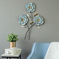 Stratton Home Decor Flower Wall Decor
