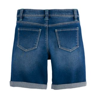 Girls 4-12 SONOMA Goods for Life? Bermuda Denim Shorts